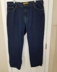 2 EUC Real Ranch Blue Jeans 40x30